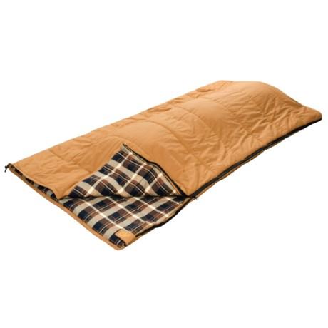 Alps Mountaineering 40°F Hunter Canvas Sleeping Bag - Synthetic, Rectangular