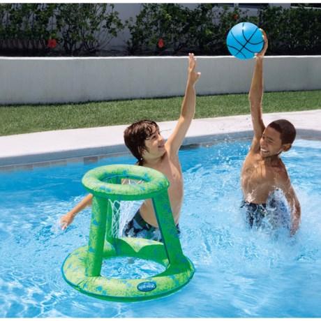 SwimWays Spring Jam Basketball Set - Swimming Pool Toy