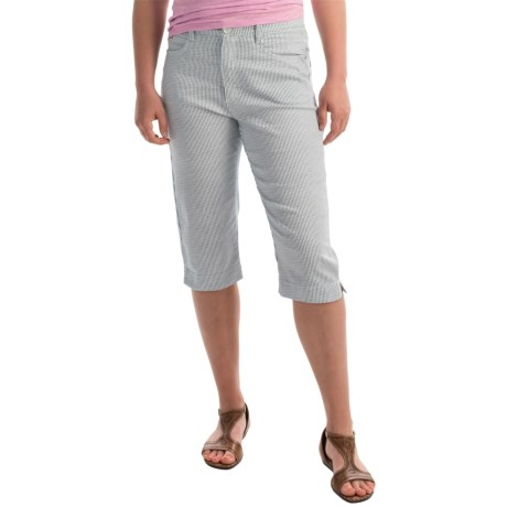 FDJ French Dressing Suzanne Pedal Pusher Crop Pants - High Rise (For Women)