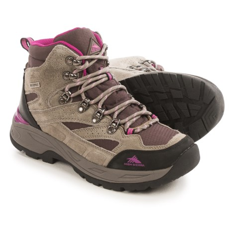 High Sierra Trekker Hiking Boots - Waterproof (For Women)