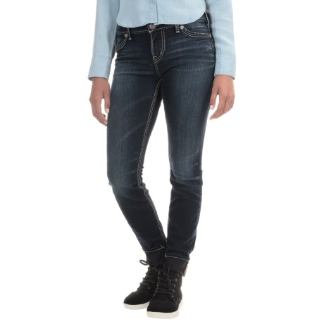 Silver Jeans Suki Super Skinny Jeans - High Rise (For Women)