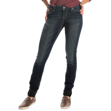 Silver Jeans Suki Mid Super Skinny Jeans (For Women)
