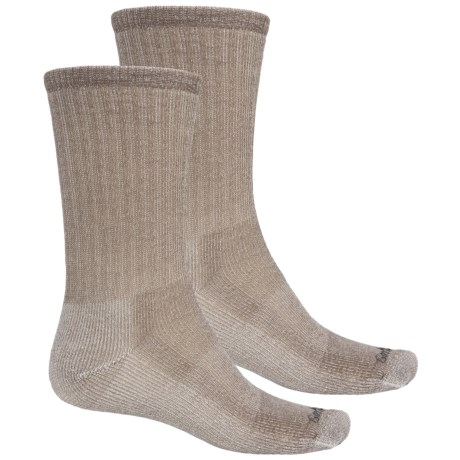 Goodhew Classic Medium Hiking Socks - 2-Pack, Merino Wool, Crew (For Men and Women)