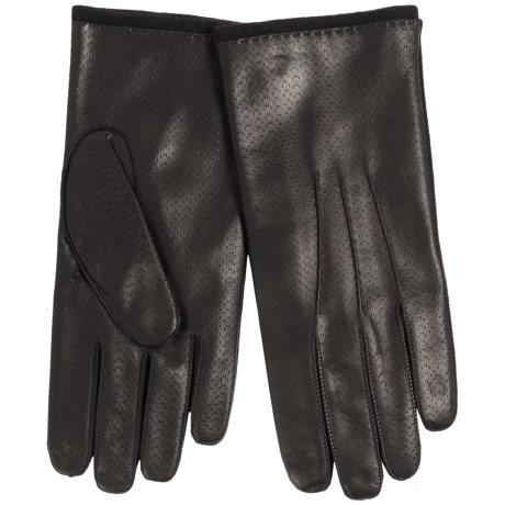 Portolano Nappa Leather Gloves - Lambswool Lining (For Men)