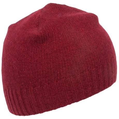 Portolano Ribbed Cuff Cashmere Beanie (For Men and Women)