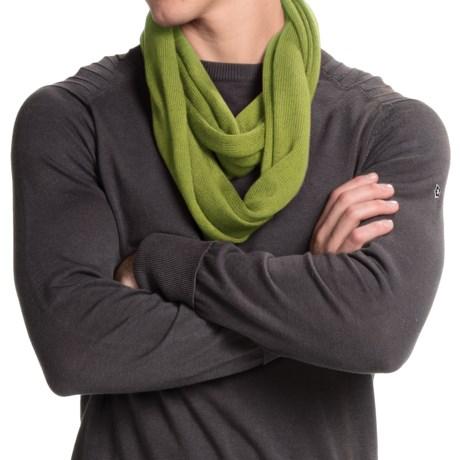 Portolano Merino Wool Infinity Scarf (For Men and Women)