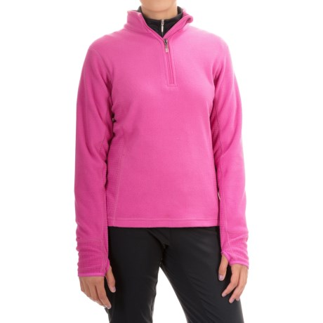 Storm Creek Brita Microfleece Jacket - Zip Neck (For Women)