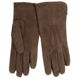Portolano Rock Suede and Lambswool Gloves (For Women)