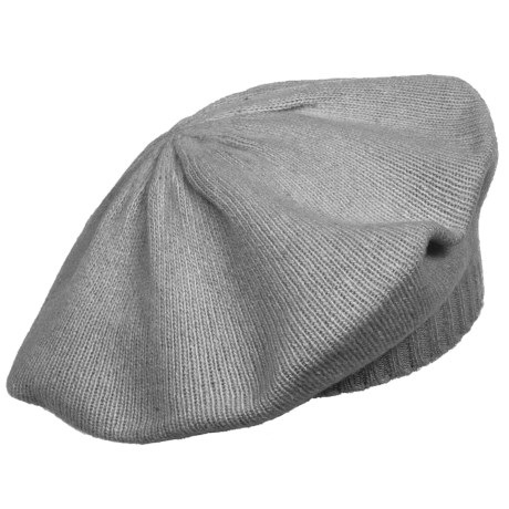 Portolano Cashmere Beret Hat (For Women)