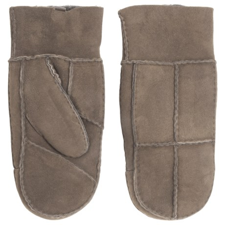 Portolano Patchwork Shearling Mittens (For Women)