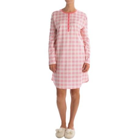 Calida True Colours Sleep Shirt - Long Sleeve (For Women)