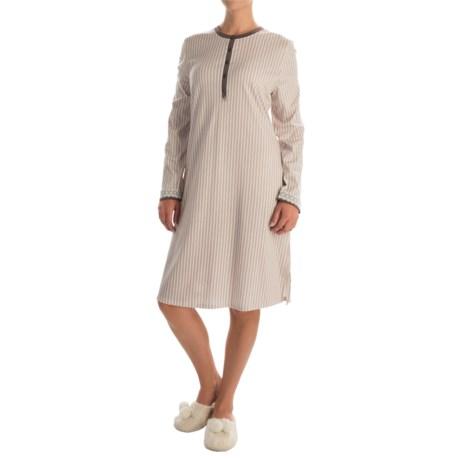 Calida My Way Supima® Cotton Sleep Shirt - Long Sleeve (For Women)