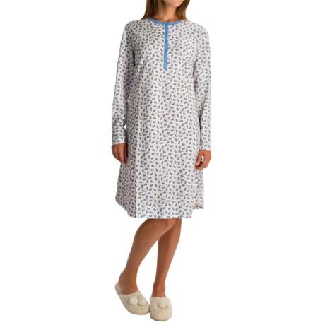 Calida I Feel Fine Nightgown - Long Sleeve (For Women)