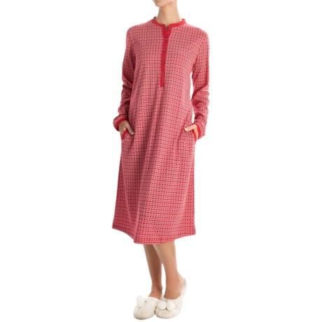 Calida Winter Wonderland Nightshirt - Long Sleeve (For Women)