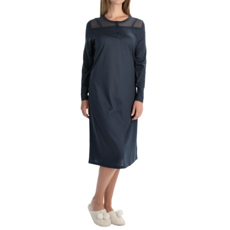 Calida To Love Somebody Nightshirt - Micromodal®-Cotton, Long Sleeve (For Women)
