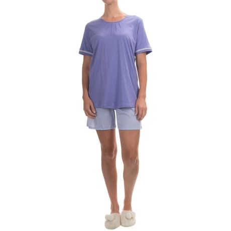 Calida Deauville Pajamas - Swiss Cotton, Short Sleeve (For Women)
