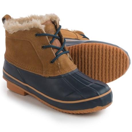 Khombu Helen Ankle Pac Boots - Waterproof, Suede (For Women)