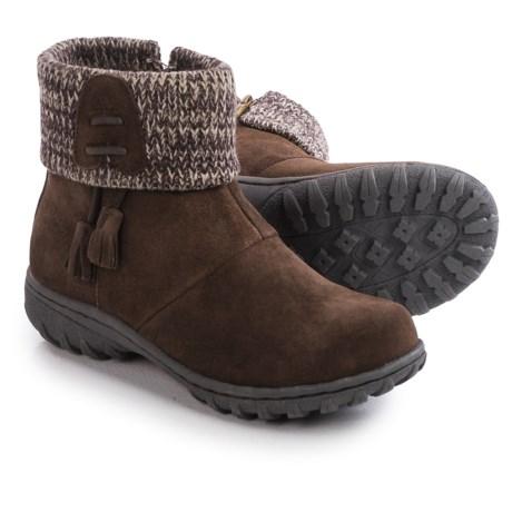 Khombu Katie Apres Ski Boots - Waterproof, Insulated, Suede (For Women)