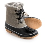 Khombu Alyssa Pac Boots - Waterproof, Insulated, Suede (For Women)