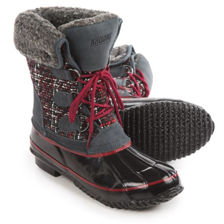 Khombu Elysse Snow Boots - Waterproof, Insulated (For Women)