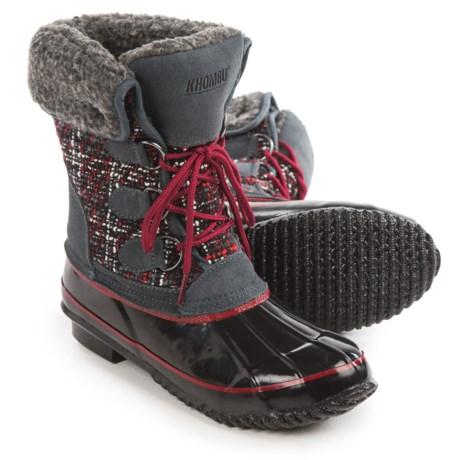 Khombu Elysse Snow Boots - Waterproof, Insulated (For Women)