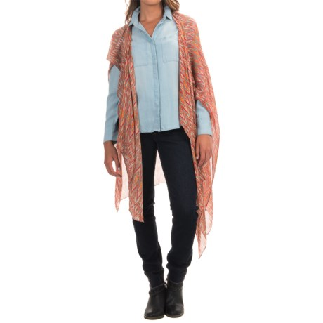 Threads 4 Thought Mojave Cape Scarf (For Women)