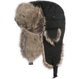 Barbour Faux-Fur-Trimmed Trapper Hat (For Women)