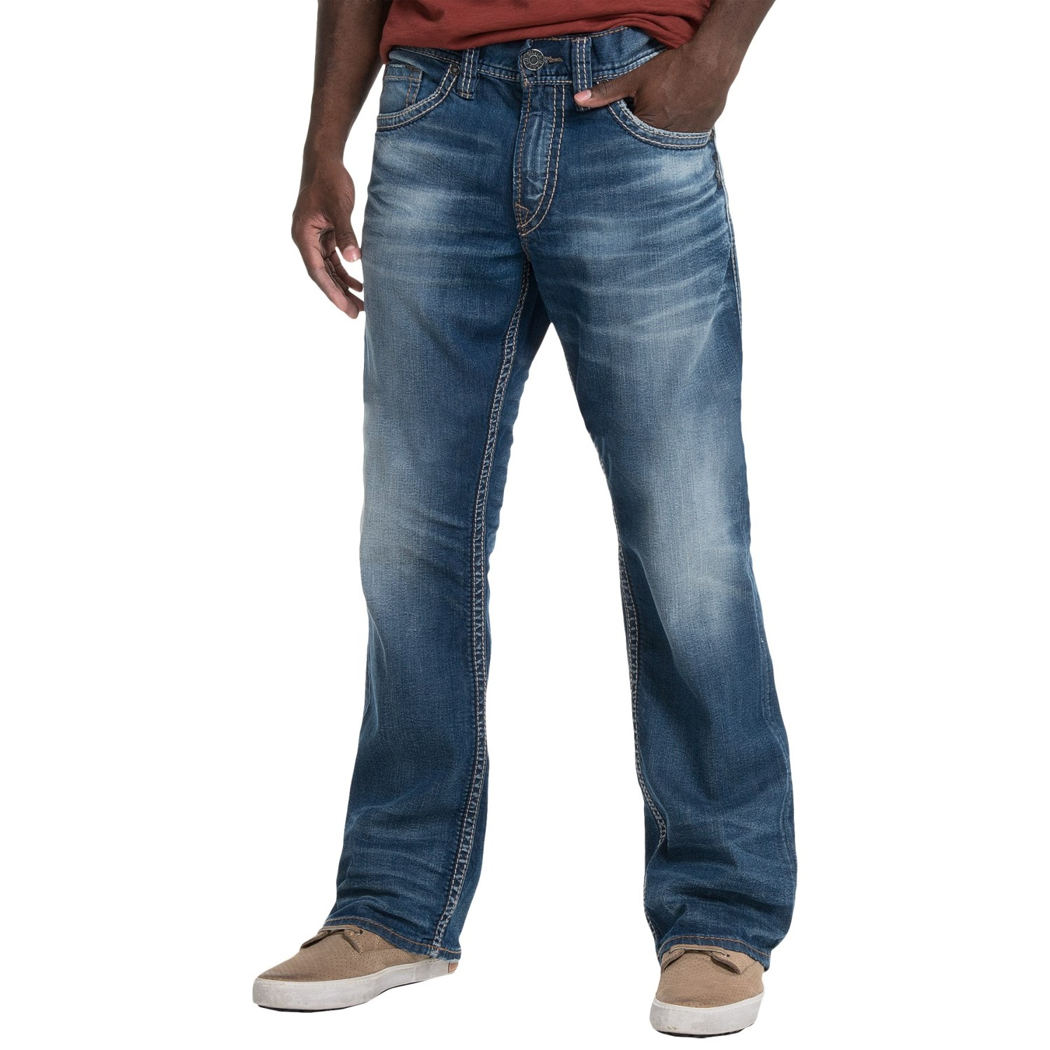 Silver Jeans Zac Jeans (For Men) 153XC - Save 64%