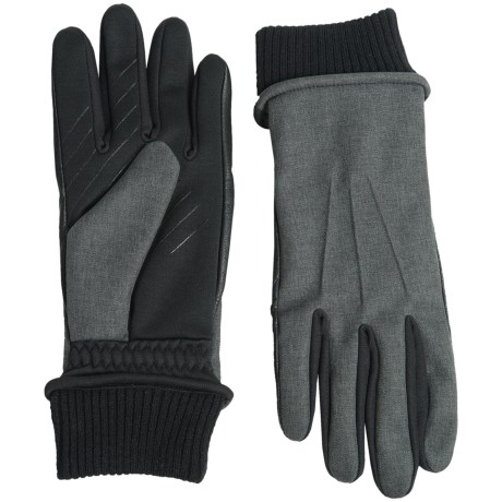 UR Powered Fabric Combo Gloves - Touchscreen Compatible (For Men)