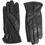 UR Powered Three Point Leather Gloves - Touchscreen Compatible (For Men)
