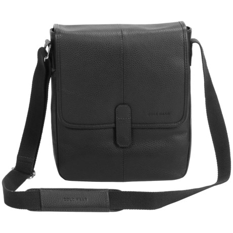 Cole Haan Pebbled Leather Reporter Bag