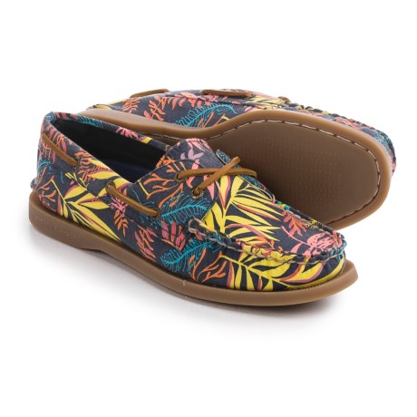 Sperry Authentic Original Seaweed Boat Shoes - Moc Toe (For Women)