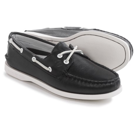 Sperry Authentic Original Leather Boat Shoes - Moc Toe (For Women)