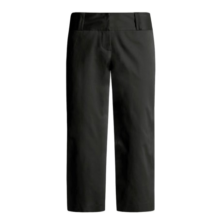 Atelier Crop Pants - Stretch Cotton (For Women)