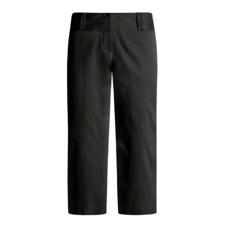 Atelier Crop Pants - Stretch Cotton (For Women)