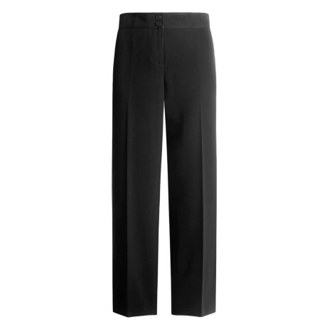 Atelier Microfiber Pants - Modern Fit (For Women)