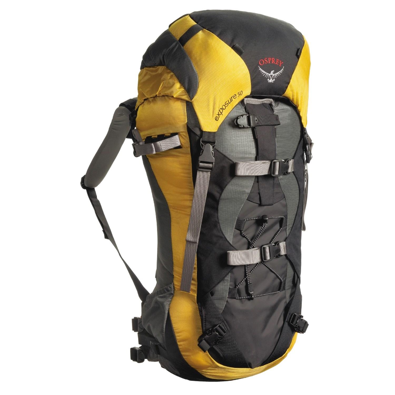 Osprey Exposure 50 Backpack Internal Frame Small 1548f