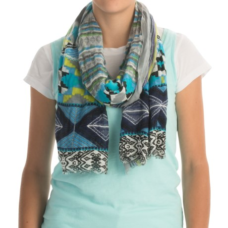 Specially made Printed Woven Scarf (For Women)