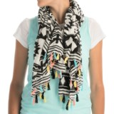 Printed Woven Scarf (For Women)
