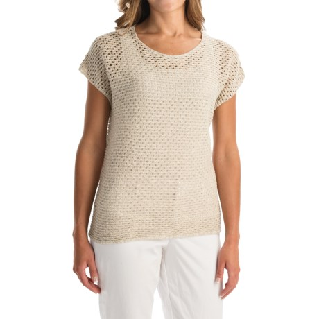 Nomadic Traders Away We Go Balboa Sweater - Short Sleeve (For Women)