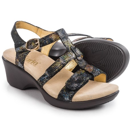 Alegria Sarah Wedge Sandals - Leather (For Women)