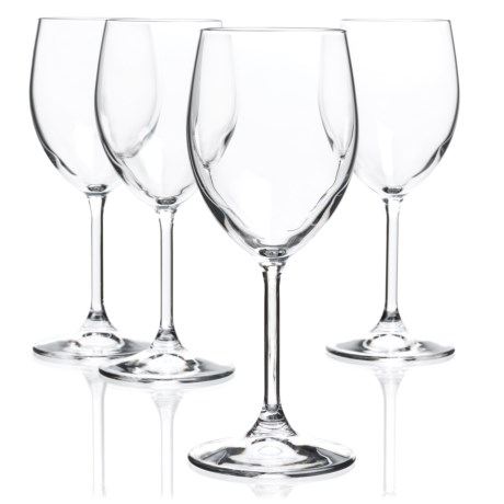 Bormioli Rocco Momenti White Wine Glasses - Crystal, Set of 4