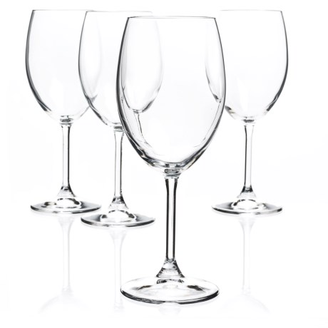 Bormioli Rocco Momenti Red Wine Glasses - Crystal, Set of 4