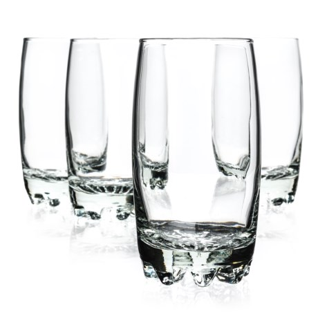Bormioli Rocco Galassia Beverage Glasses - 13.75 fl.oz., Set of 4