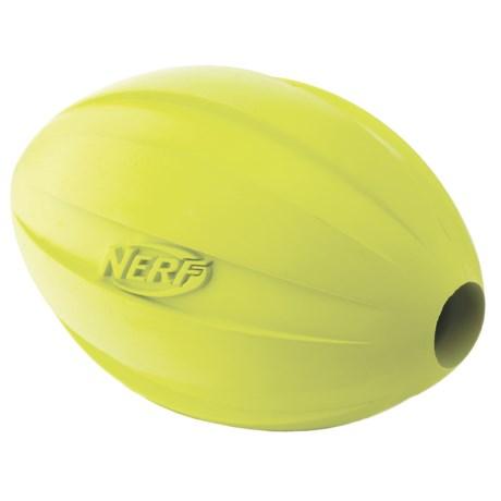Nerf Dog Football Feeder Dog Toy