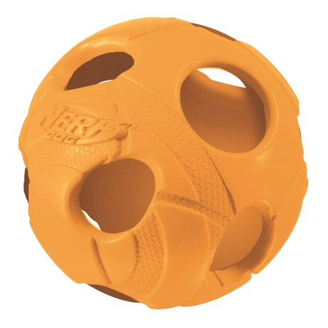 Nerf Dog Hollow Bash Retriever Ball Dog Toy