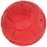 """Nerf Dog Bash Squeak Ball Dog Toy - 3.8"""""""
