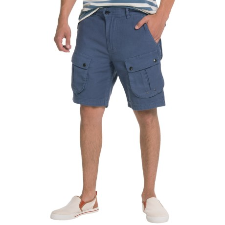 Barbour Mountain Cotton Twill Shorts (For Men)