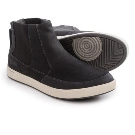 Ahnu Kezar Leather Chelsea Boots (For Men)