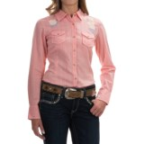Ariat Wicker Embroidered Western Shirt - Snap Front, Long Sleeve (For Women)
